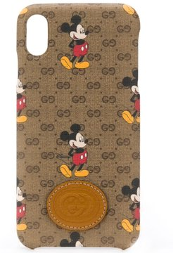 x Disney Mickey Mouse iPhone XS Max case - Brown