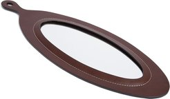 Perfect Day oval mirror - Brown