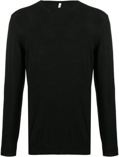 slim fit jumper - Black