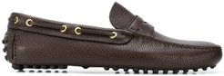 Driving slip-on loafers - Brown