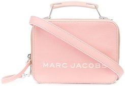 The Tricolor Textured Mini Box bag - PINK