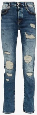 Rocco slim fit ripped jeans