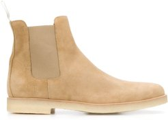 pull detail Chelsea boots - NEUTRALS