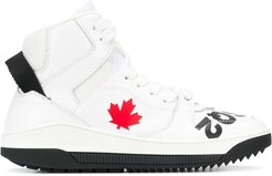 Barkley high-top sneakers - White