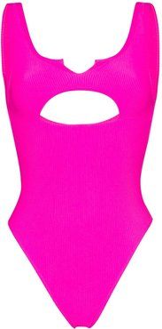 Cody cut-out swimsuit - PINK