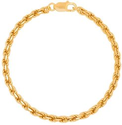 gold-plated Achilles chain anklet