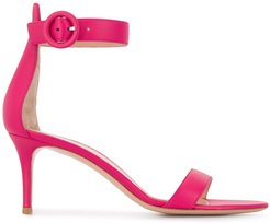 Portofino 70mm leather sandals - PINK