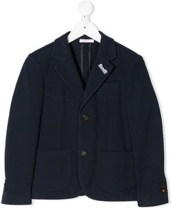 relaxed fit blazer - Blue