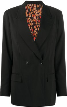 x Austyn The Birds We Shoot reversible blazer - Black
