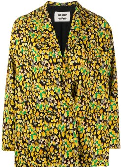 x Austyn The Birds We Shoot blazer - Yellow