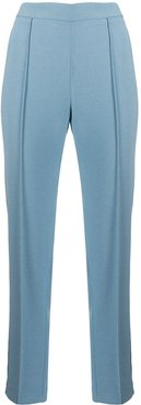 cropped smoking pants - Blue