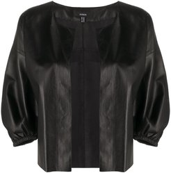 Madee open-front jacket - Black