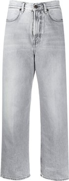 1993 cropped straight-leg jeans - Grey