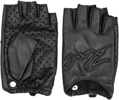 K/Karl fingerless gloves - Black