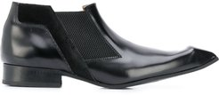 pointed chelsea boots - Black