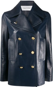 double-breasted VGOLD jacket - Blue