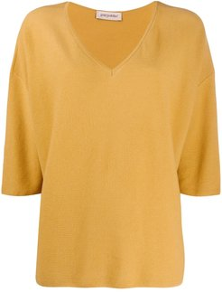 dolman sleeve jumper - Yellow