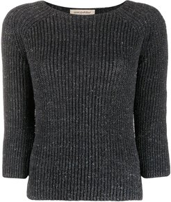 3/4 sleeve jumper - Grey