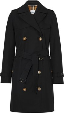 The Short Islington trench coat - Black