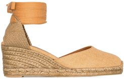 Carina 60mm wedge espadrilles - Brown