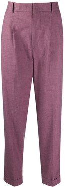Lowea turn-up trousers - PINK