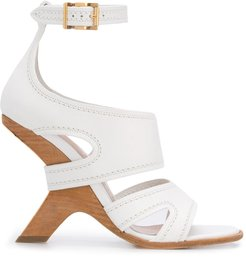 No. 13 wedge sandals - White