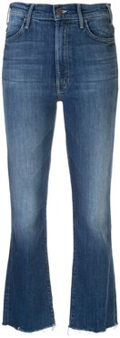 mid rise flared jeans - Blue