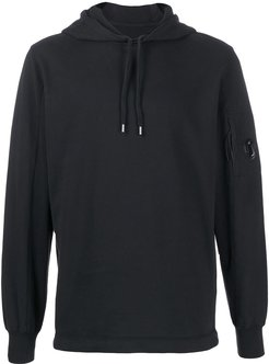 long-sleeved hoodie - Black