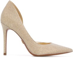 pointed toe stiletto pumps - GOLD