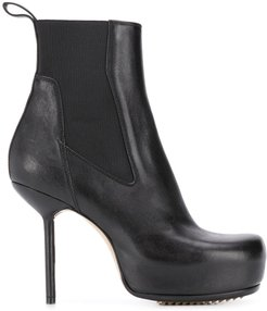 stiletto heel ankle boots - Black