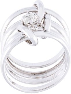 multi-link ring - SILVER