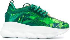 Chain Reaction Jungle print sneakers - Green