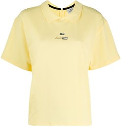 short-sleeved polo shirt - Yellow