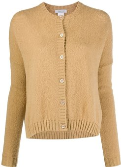 round neck cardigan - NEUTRALS