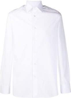 slim fit shirt - White