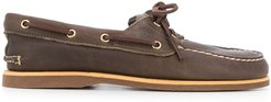 classic boat shoes - Brown