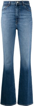 Runway high rise bootcut jeans - Blue