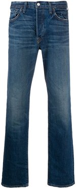 faded slim jeans - Blue