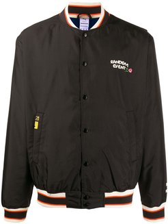 Random Event bomber jacket - Black