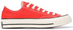 Chuck 70 low-top canvas trainers - ORANGE