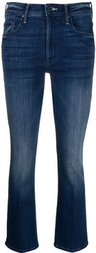 slim-fit flared jeans - Blue