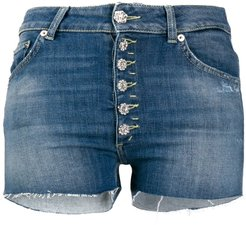 Mila cut-off denim shorts - Blue