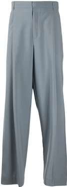 loose fit tailored tousers - Grey
