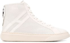 H365 high-top sneakers - White