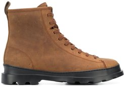 Brutus lace up boots - Brown