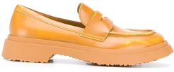 Walden leather penny loafers - Yellow