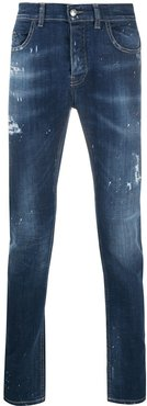 distressed jeans - Blue