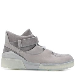 touch-strap sneakers - Grey