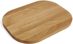 oak chopping board (40cm) - Brown