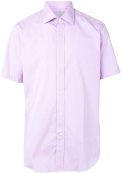 short sleeve shirt - PURPLE